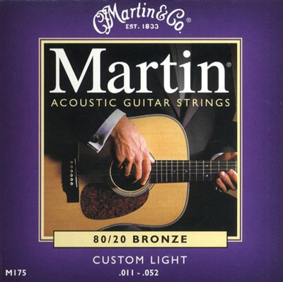 Martin M175 Original 80/20 Bronze Custom Light (11-52) Full Set