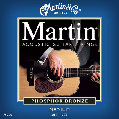 Martin M550 Original Phosphor Bronze Medium, Full Set