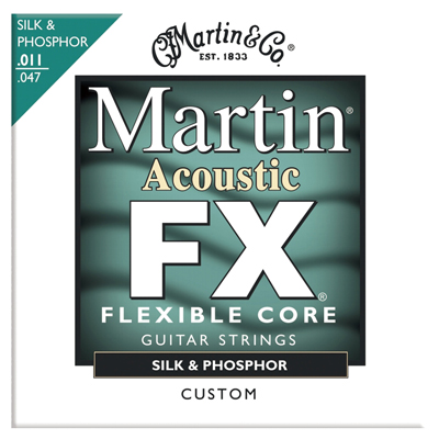 Martin MFX130 Flexible Core Silk & Phosphor FX Custom, Full Set