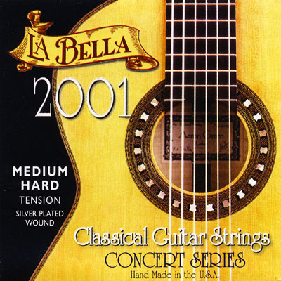La Bella 2001 Classical Medium Hard Tension, Full Set