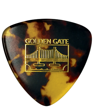 Golden Gate Mp 10 Deluxe Tortoise Large Triangle One Pick