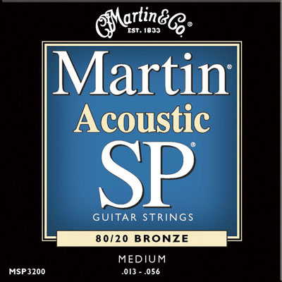 Martin MSP3200 80/20 Bronze Medium SP, Full Set