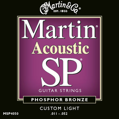 Martin MSP4050 Phosphor Bronze SP Custom Light, Full Set