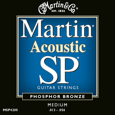 Martin MSP4200 Phosphor Bronze SP Medium, Full Set