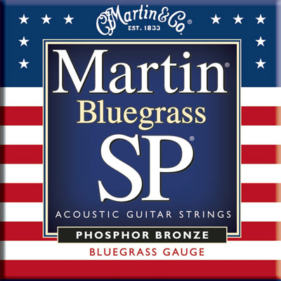 Martin MSP4250 Phosphor Bronze SP Bluegrass, Full Set
