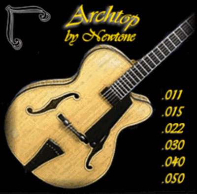 Newtone Archtop Double Wrap (11-50), Full Set