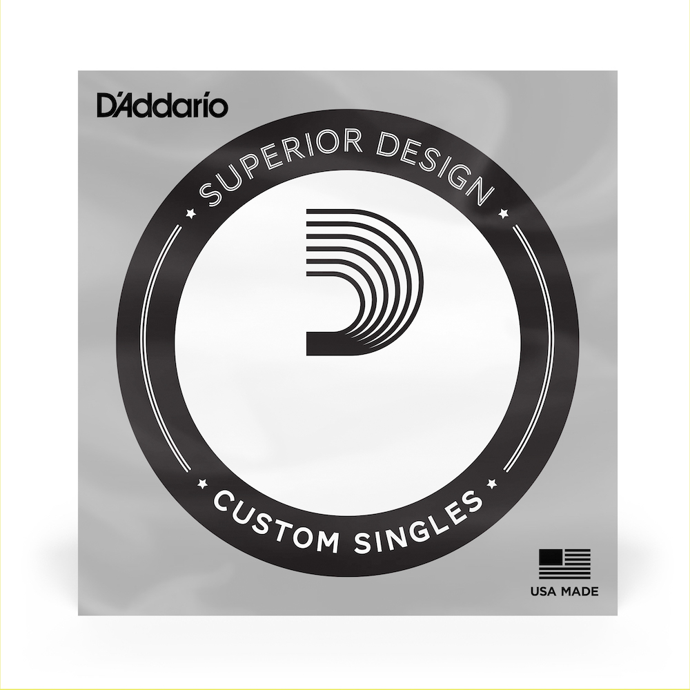 D'Addario Single Electric Bass, Half Rounds NHR130