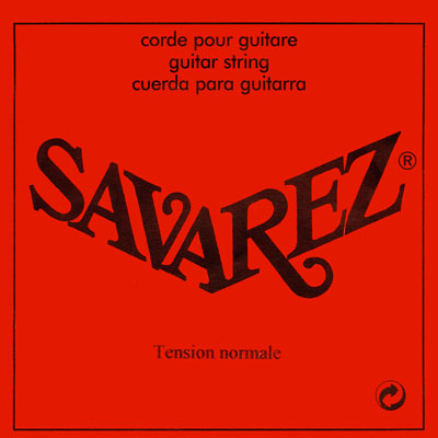 Savarez 5207R 7th string (D) - standard tension, Single String