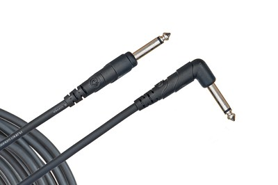 Planet Waves Classic Right Angle 20 ft. Instrument Cable PW-CGTRA-20