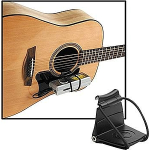 planet waves tuner up acoustic guitar tuner bracket. Black Bedroom Furniture Sets. Home Design Ideas
