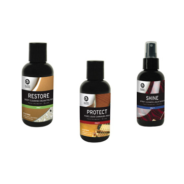 Planet Waves Guitar Polish Premium 3-Step Guitar Polish System