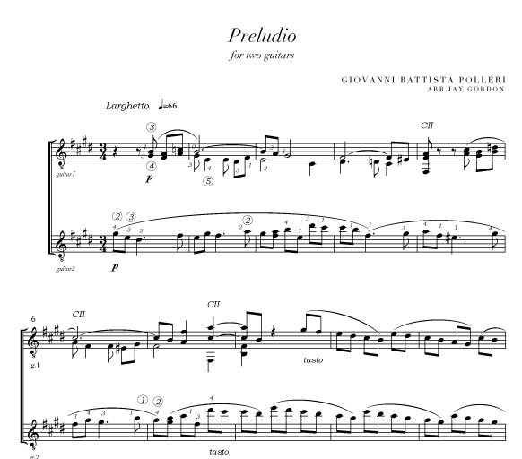 maracatu duet for guitars pdf
