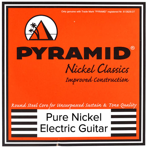 Pyramid Pure Nickel Classics Electric Guitar Strings Regular 10-46