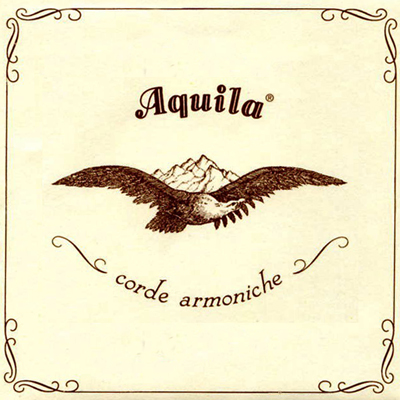 Aquila Romantic Guitar (Ambra 800) Bass Set