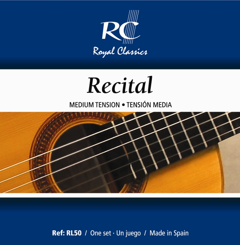 Royal Classics RL50 Recital Medium Tension, Full Set