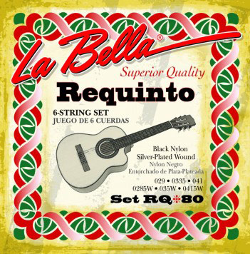 La Bella RQ80 Requinto Strings, Full Set