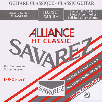 Savarez HT Classic Polished 546RH 6th string (E) normal tension .0417