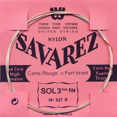 Savarez Traditional 527R - 3rd string (g), high tension