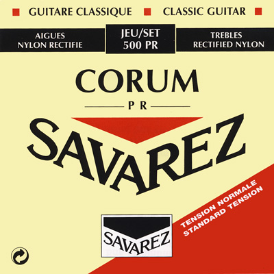Savarez Traditional Rectified 520PR_Trebles Normal Tension, Treble Set