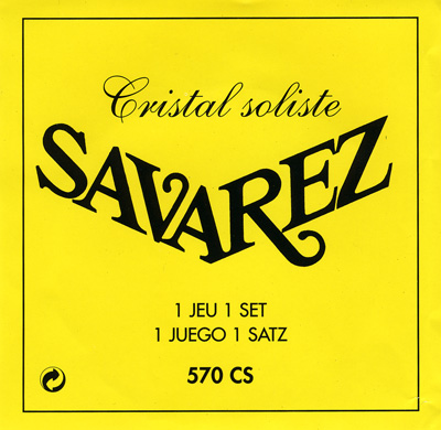 Savarez Cristal 572J - 2nd string (b), high tension .033