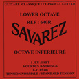 Savarez 640R Lower Octave Normal Tension (650mm scale), Full set