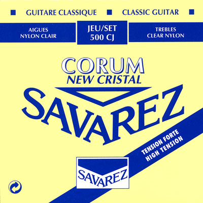 Savarez 500CJ New Cristal/Corum High Tension, Full Set