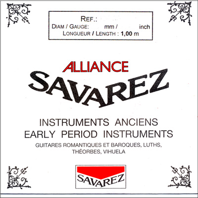 Savarez Alliance KF74 - .74 mm / 0.0291 inches, Single String