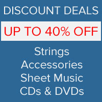 Discount Deal Sale Save up to 50% | Strings By Mail