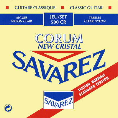 Savarez 500CR New Cristal/Corum Normal Tension, Full Set