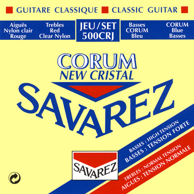Savarez 500CRJ New Cristal/Corum Normal/High Tension, Full Set