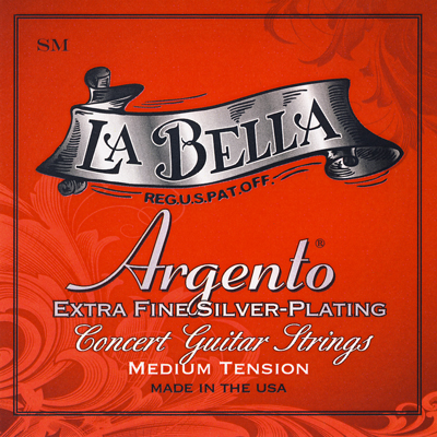 La Bella Argento SM Medium Tension, Full Set