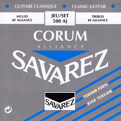 Savarez Corum 500J High Tension, Bass Set