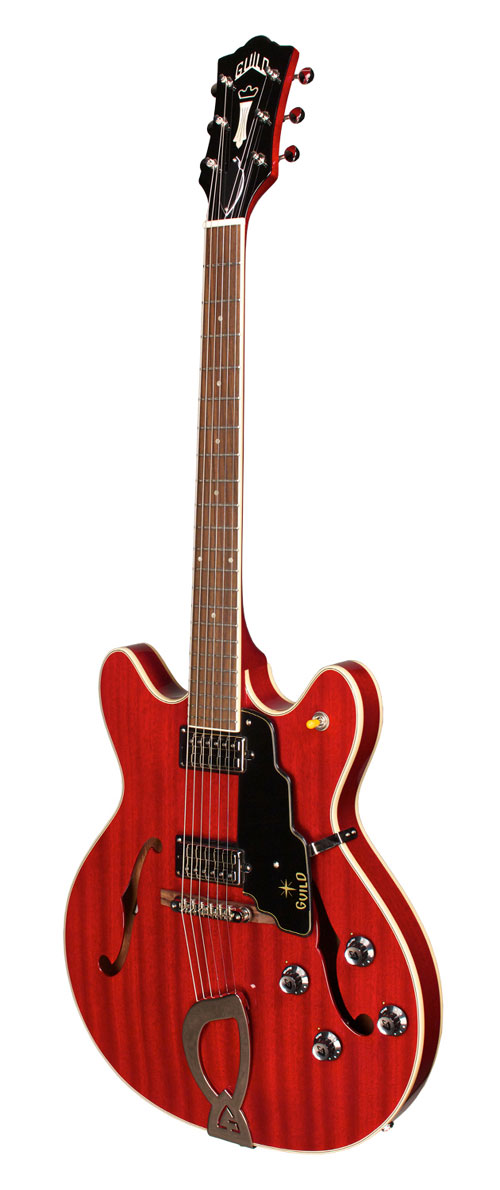 guild starfire iv semi hollow body electric guitar cherry red. Black Bedroom Furniture Sets. Home Design Ideas