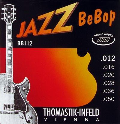 thomastik infeld jazz bebop series bb112 electric guitar strings 12 50. Black Bedroom Furniture Sets. Home Design Ideas