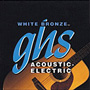 GHS White Bronze Alloy 52 Acoustic Guitar Strings WB-TL True Lt 12-50