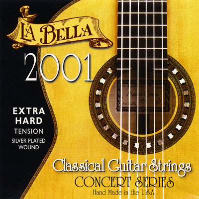 La Bella 2001 Classical Extra Hard Tension, Full Set