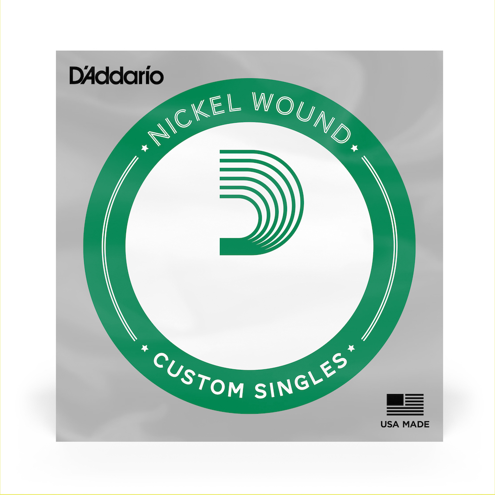 D'Addario Single Electric Bass, Nickel Wound XLB135