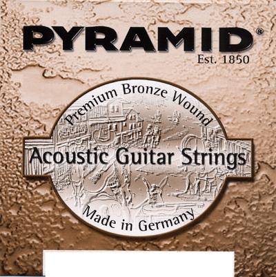 Pyramid Acoustic Premium Bronze Wound Medium (13-56)