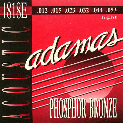 Adamas 1818E Phosphor Bronze Acoustic (12-53), Full Set