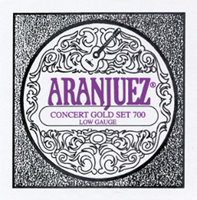 Aranjuez Concert Gold 700 Low Gauge - Full Set