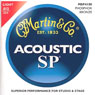 Martin MSP4100 Phosphor Bronze Acoustic Guitar Strings Lt 12-54