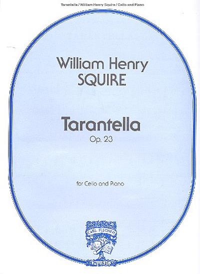 Squire Tarantella Op 23 For Cello And Piano