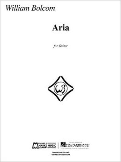 Bolcom | Aria for guitar