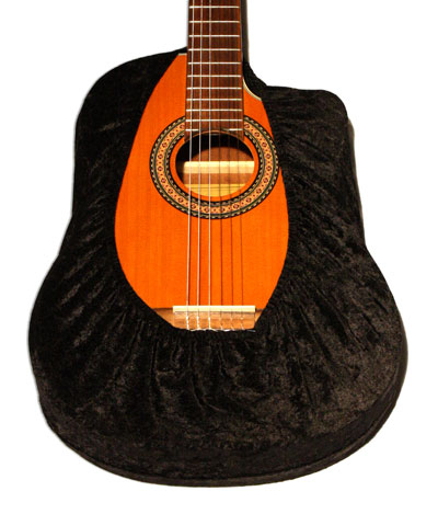 Universal Guitar Cover, Black Velvet