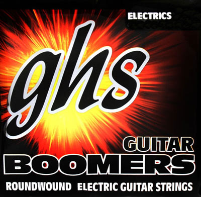 GHS Boomers DYL Electric Guitar, wound 3rd (12-52), Full Set