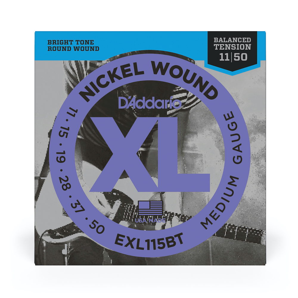 D'Addario Balanced Tension Nickel Wound EXL115BT Medium (11-50)