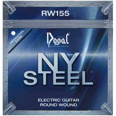 Dogal NY Steel RW155C Round Wound Electric Guitar Strings 10-46