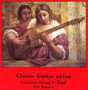 Dogal Venetian Classical Guitar Strings NR88A Regular Tension