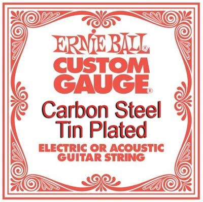 Ernie Ball 1009 Tin Plated Carbon Steel .009, Single Guitar String