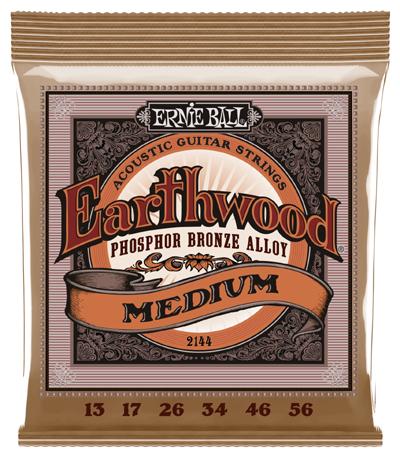 Ernie Ball Earthwood 2146 Regular Slinky Phos Brnze Acoustic Guitar String 12-54